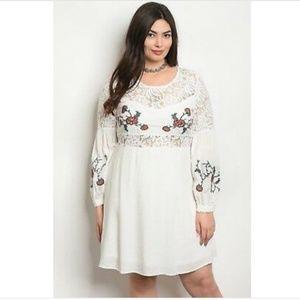 NWT Dreamland white boho hippie festival dress